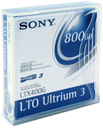 Sony LTO 3 tape cartridge
