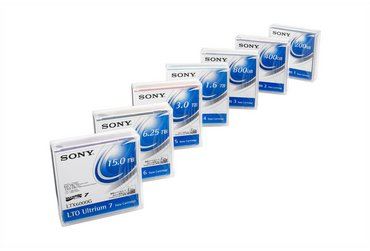 Sony LTO 5 tape cartridges