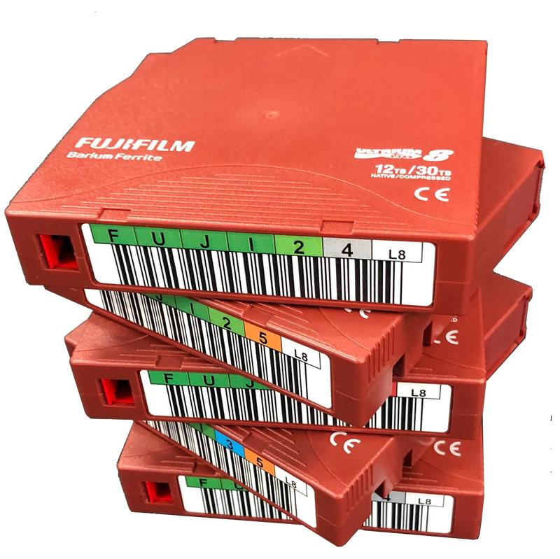 LTO tape storage